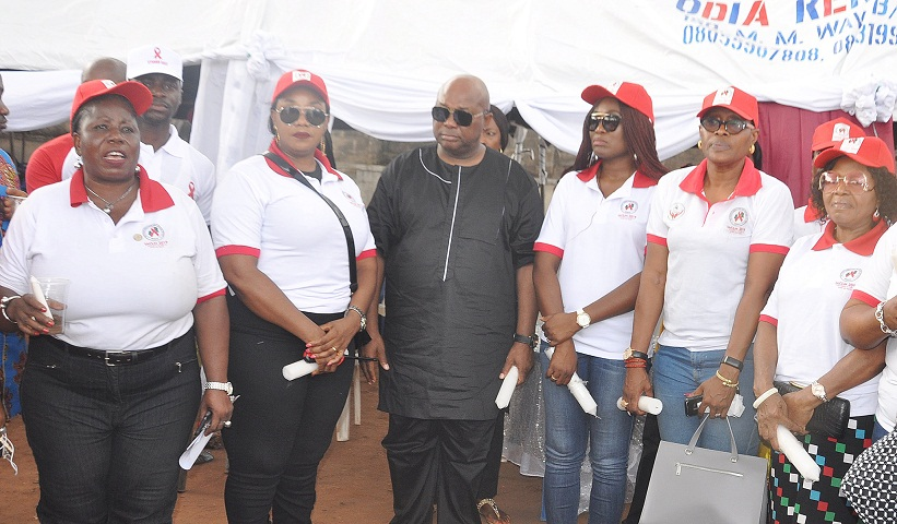 Int'l AIDS Candlelight Memorial Day: Edo First Lady supports awareness campaign to end stigmatisation