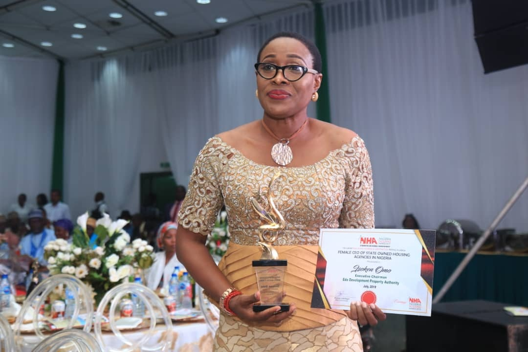 Obaseki's housing reforms win big as EDPA boss bags CEO of the Year Award