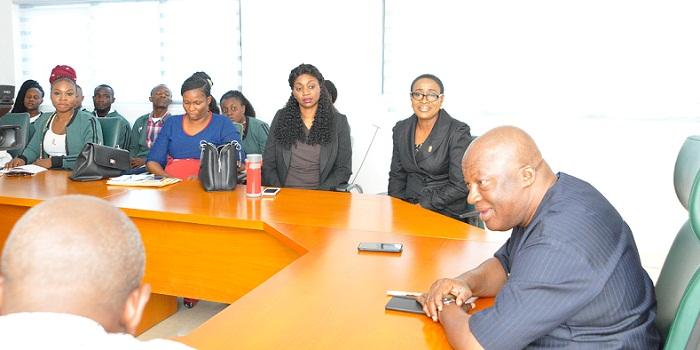 Rivers varsity students tour Edo, study Obaseki's housing reforms