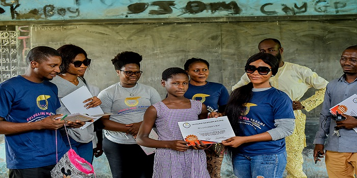 NGO drums support for Obaseki's education reforms, distributes books, other learning aids to pupils