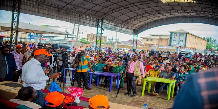 Obaseki rolls out skills training programme for 100 youths at ward meeting