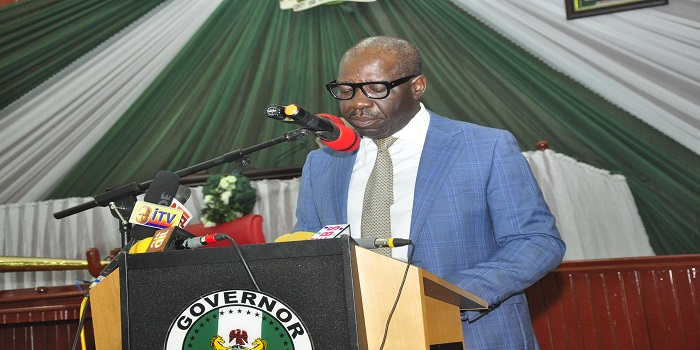 Obaseki congratulates Gambari on appointment as Buhari's Cos