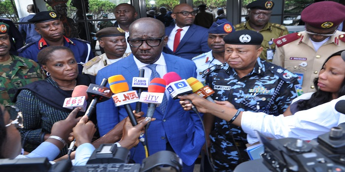 Obaseki, security chiefs meet, strategise to combat farmer-herder clashes in Edo