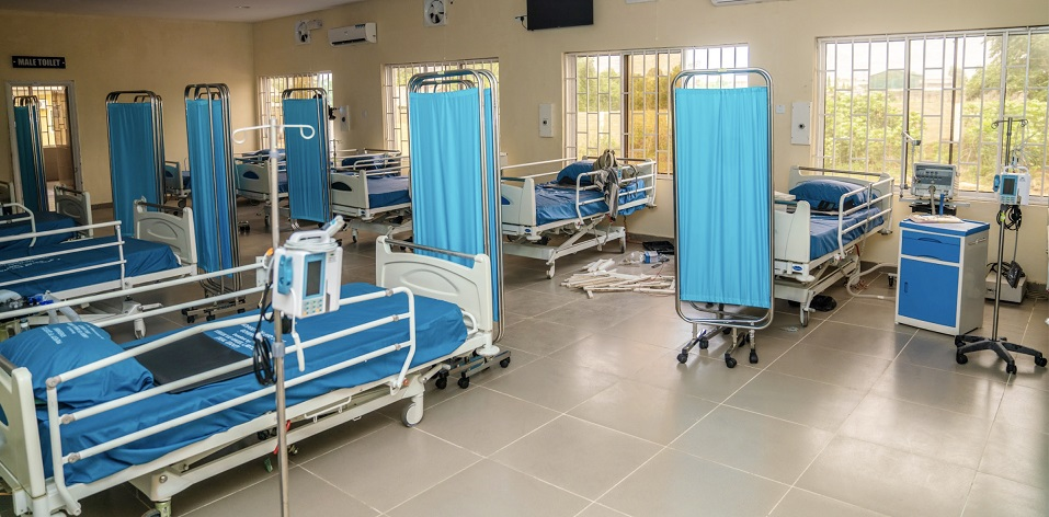 Coronavirus: Edo govt opens new 30-bed isolation facility with 15 ventilators