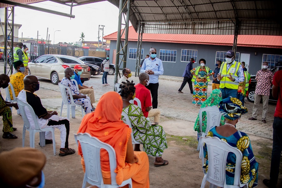 Coronavirus: Obaseki leads sensitisation campaign in Oredo Ward 4