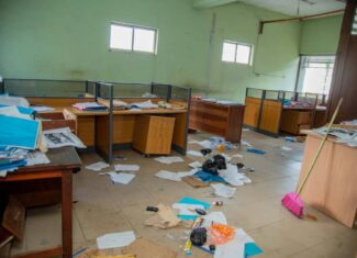 Edo govt assesses vandalised public infrastructure, deplores looting, destruction