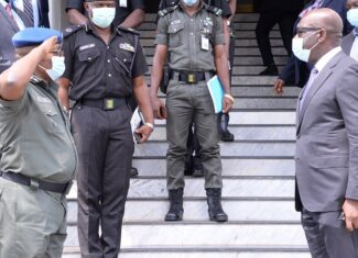 Obaseki rallies security chiefs on enforcement of COVID-19 protocols