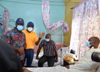 Obaseki, Shaibu visit injured Bendel Insurance players attacked at match with Remo Stars