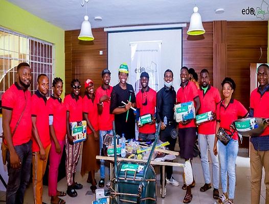 EdoJobs, GIZ launch cash for work scheme for 225 artisans in Edo