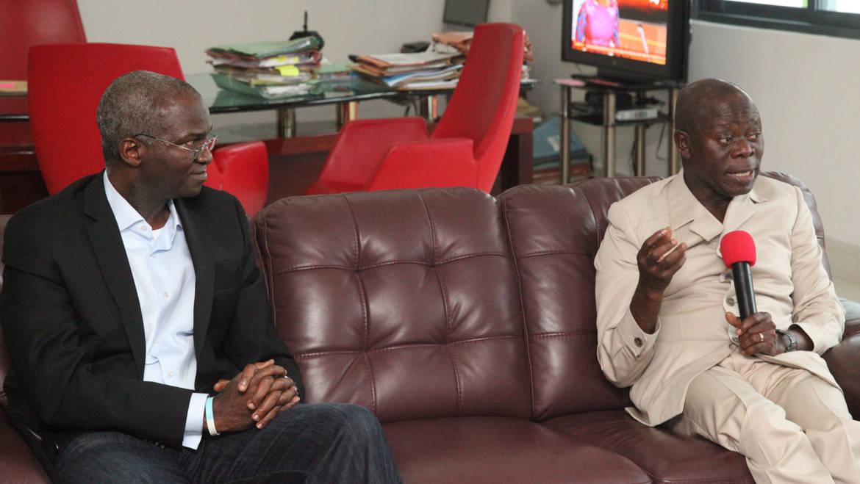 Jonathan's govt destroyed Benin-Ekpoma-Auchi-Okene road —Oshiomhole