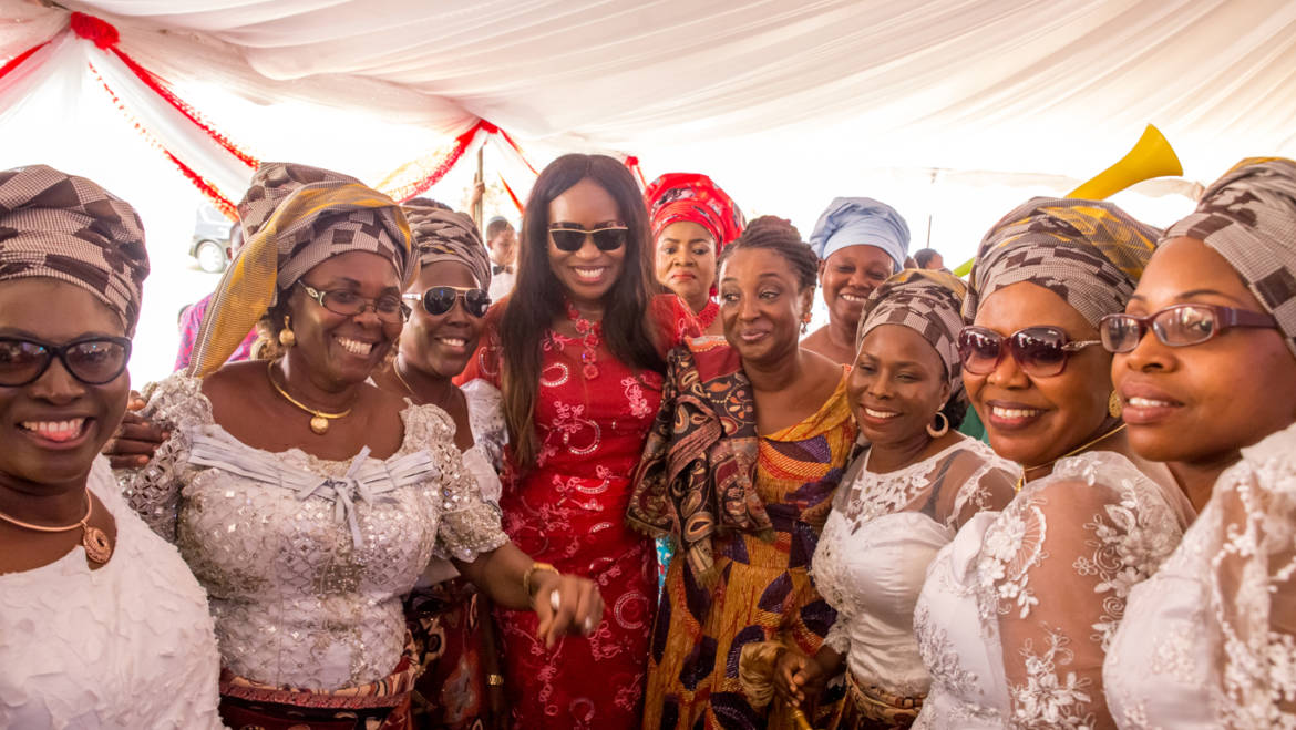 Edo first lady fetes women, urges them to rise up and take rightful positions