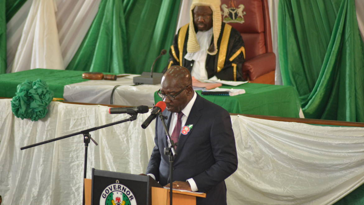 Obaseki presents N150b budget of consolidation and prosperity