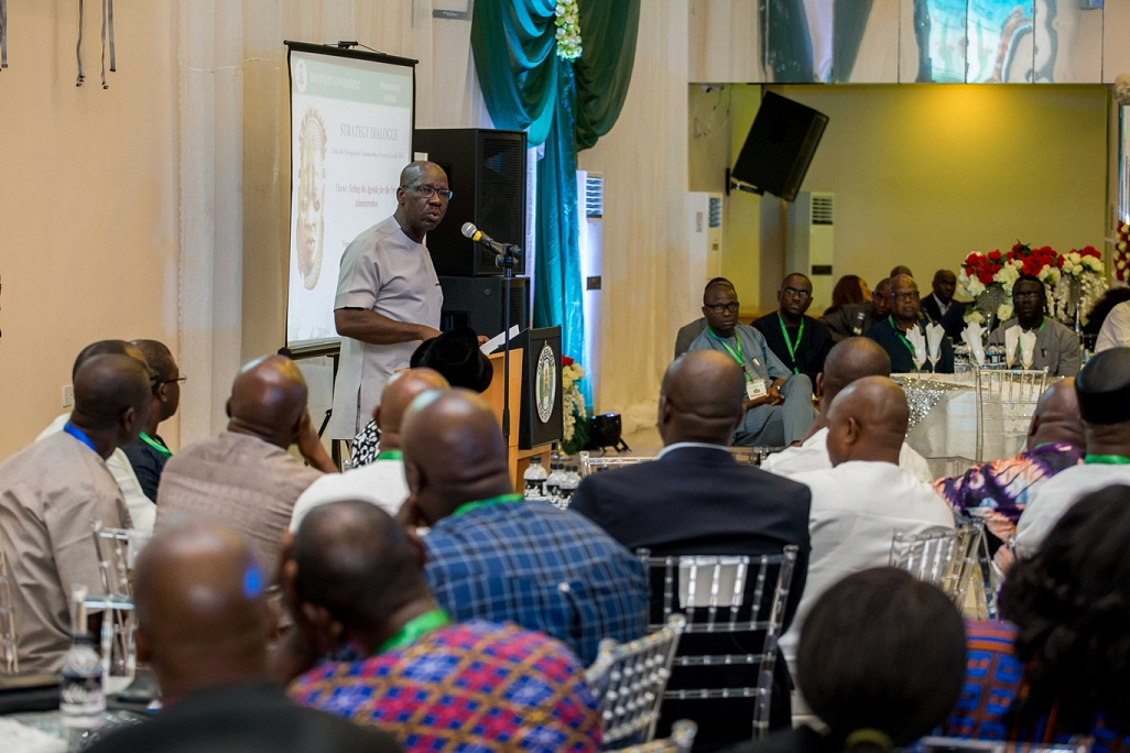 Obaseki meets stakeholders, set agenda for inclusive and effective governance