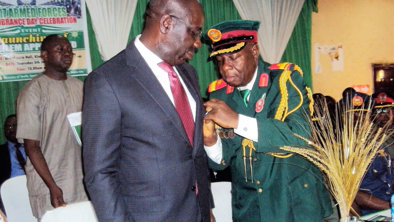 Obaseki lauds ex-servicemen, assures them of Govt. support