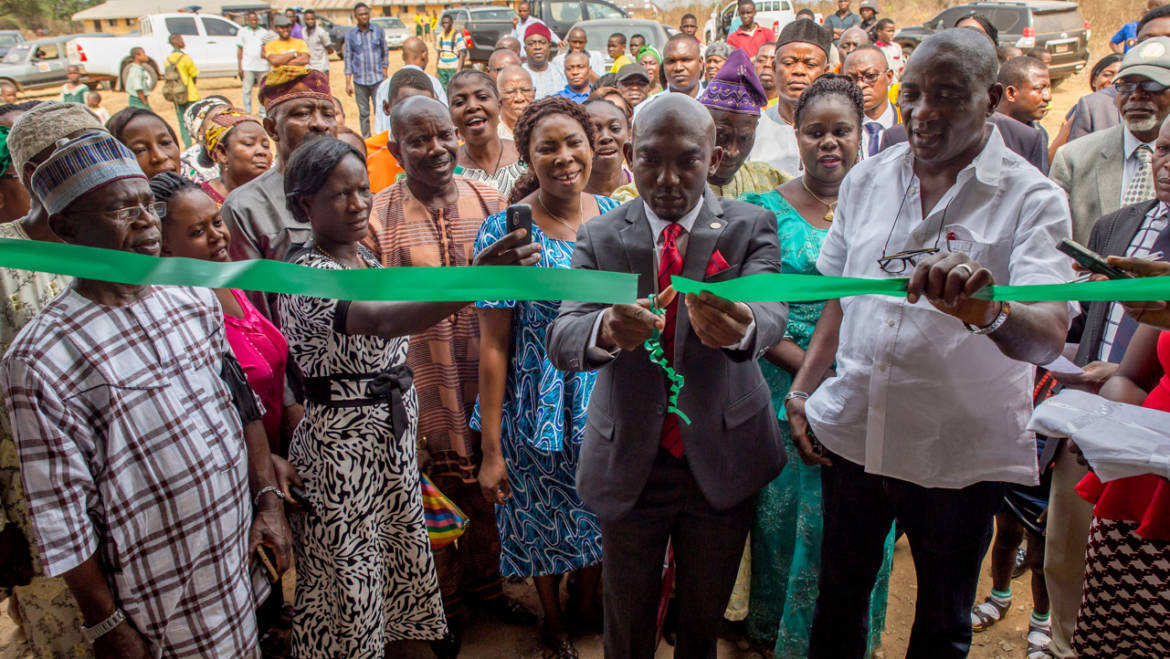 Obaseki commissions SEEFOR projects, calls for more support
