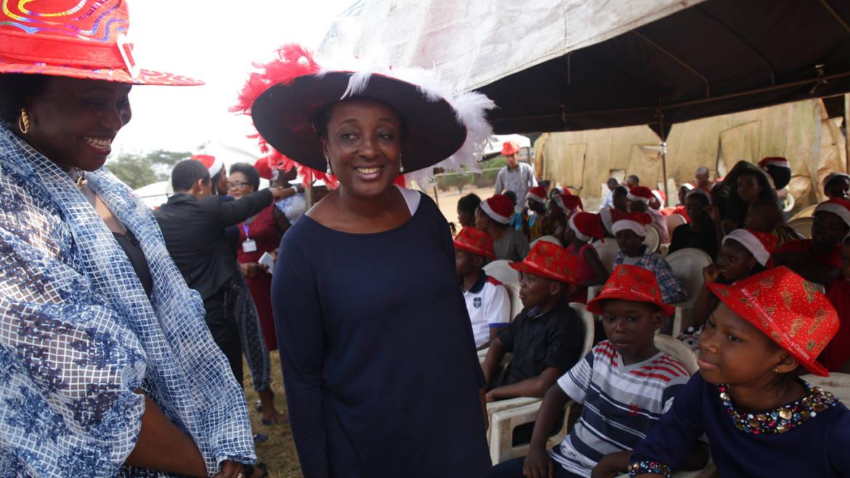 Mrs. Betsy Obaseki's spirit of kindness at Xmas
