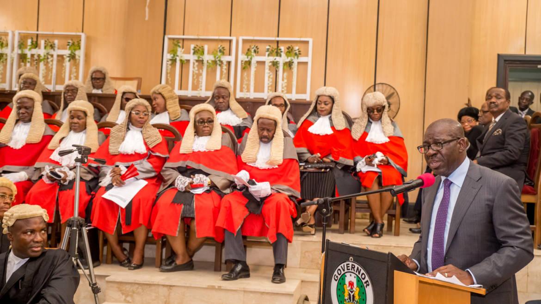 Obaseki increases judiciary's capital expenditure