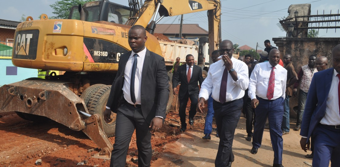 Edo hails firms over quality road construction