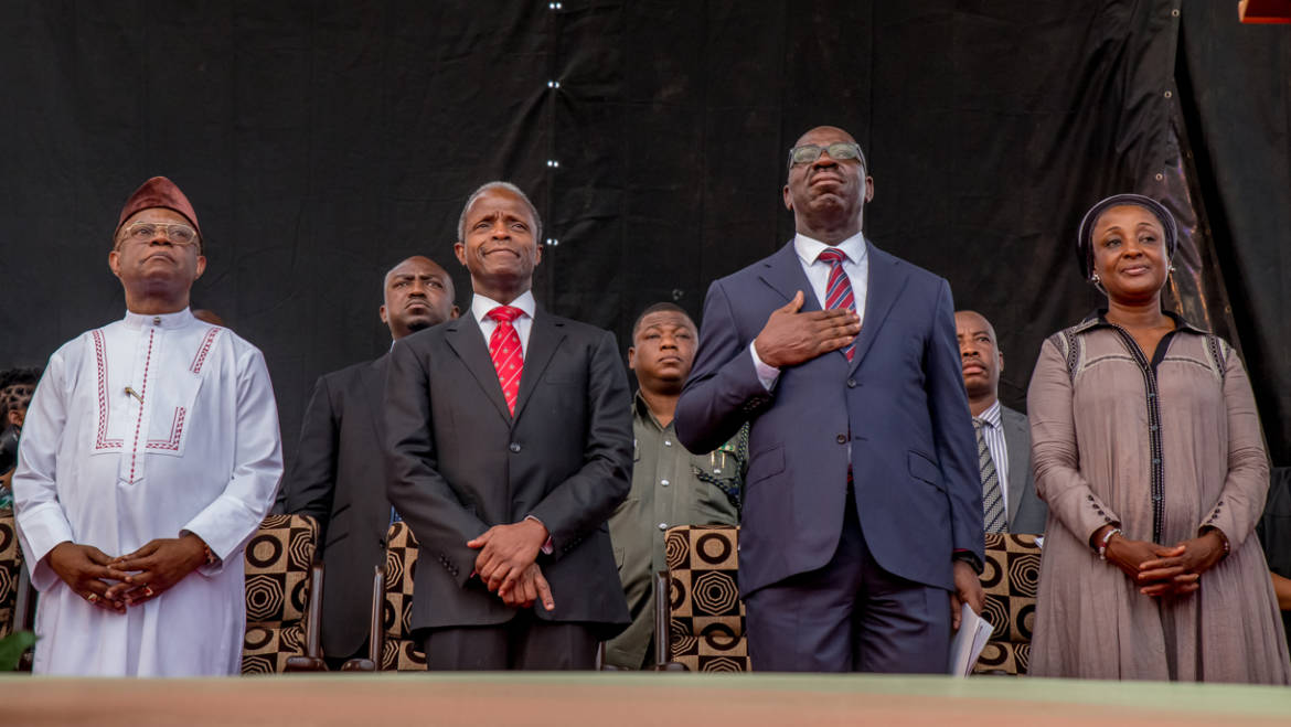 Prof. Osinbajo, Obaseki and lessons from Democracy