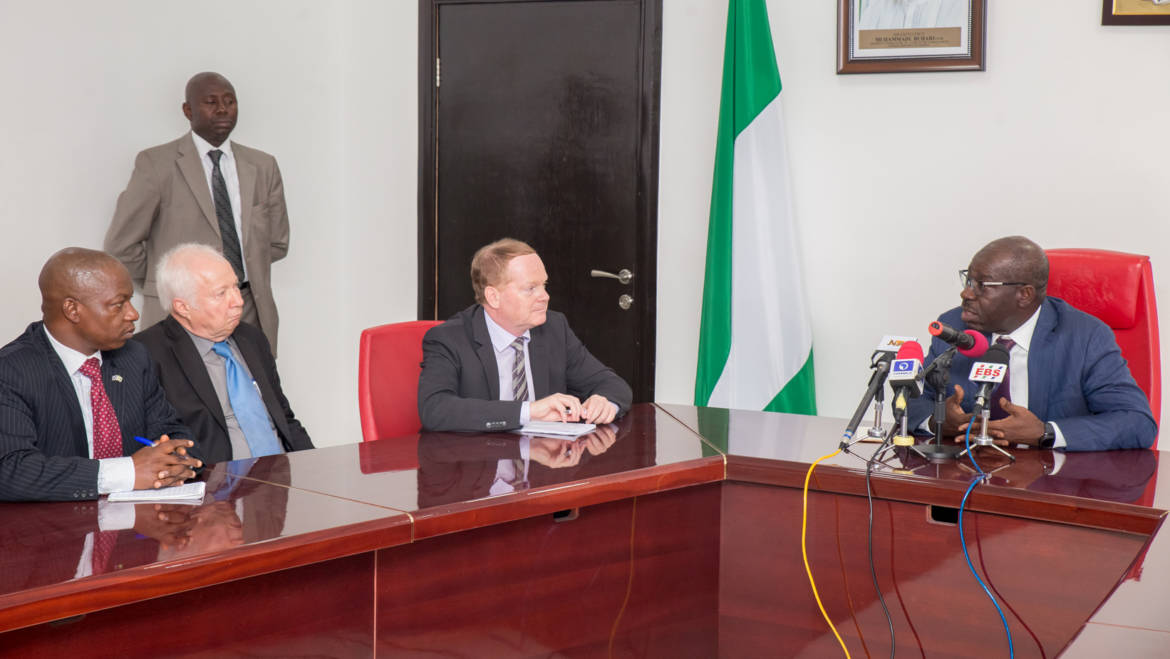 Project Funding: European Union urges other States to Emulate Obaseki