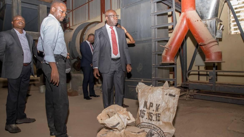 Vice President Osibanjo to Commission Edo Fertilizer Plant managed by WACOT