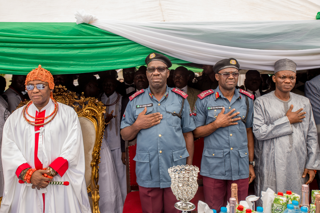 Oba of Benin commissions revamped Edo Traffic Management Agency