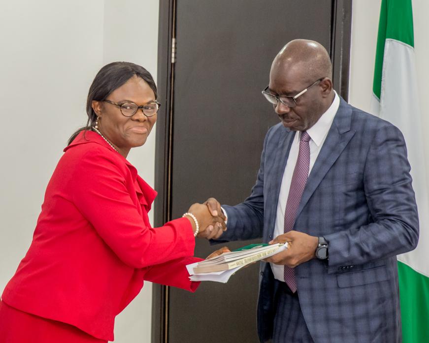Obaseki Collaborates with NOA, German Partners on Citizen Mobilisation
