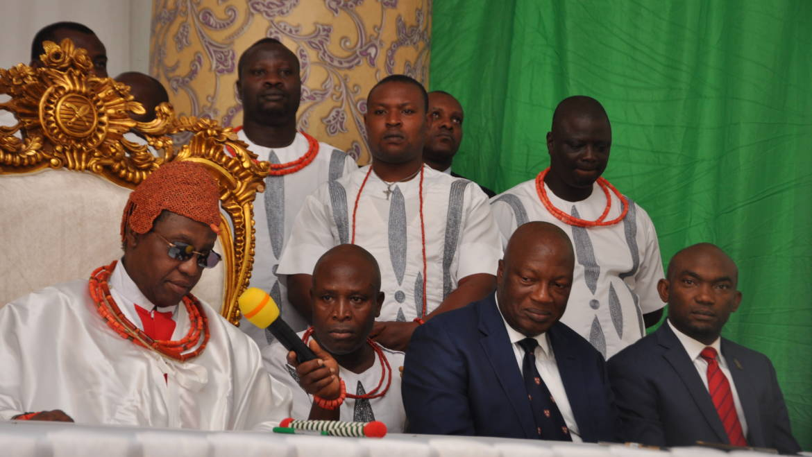 Human trafficking: Group urges cartels to respect Oba of Benin's condemnation or face wrath of ancestors