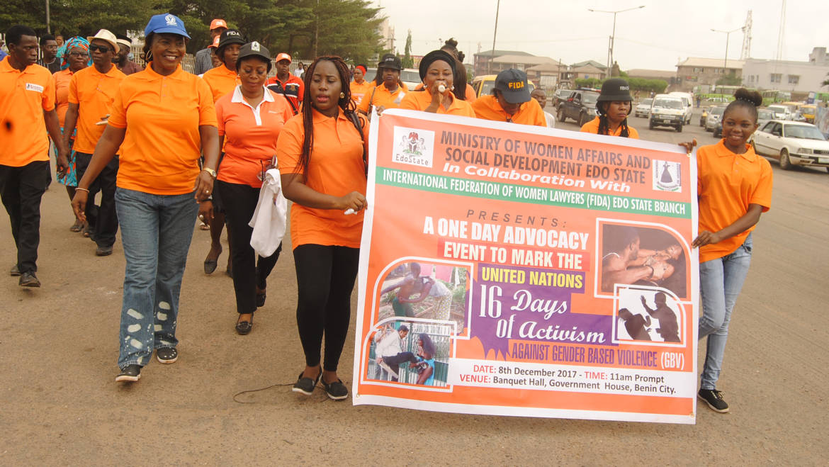 Edo Govt calls for collaboration, vigilance to curb gender violence