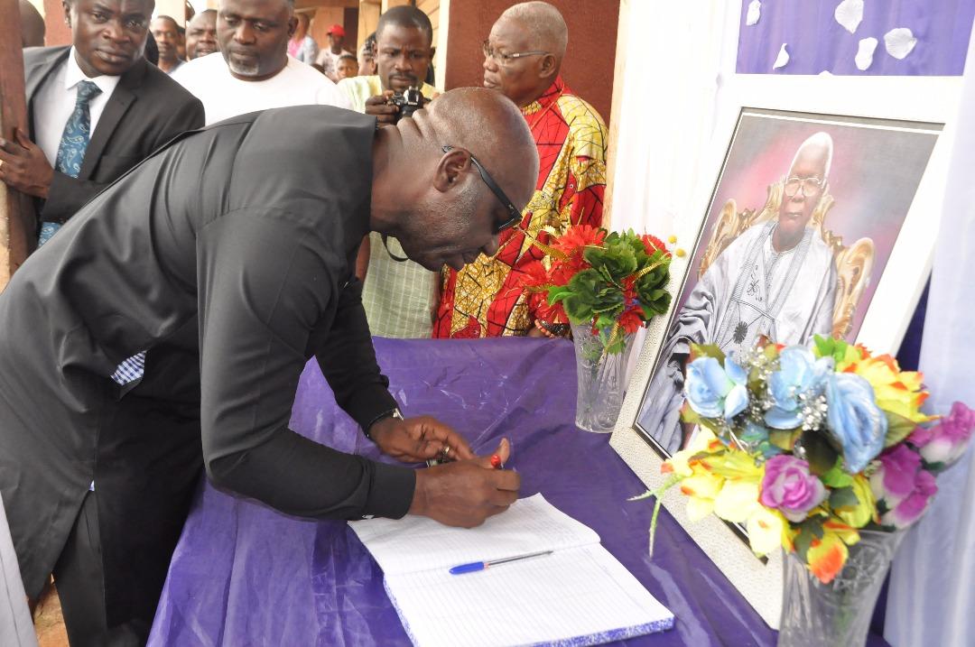 Obaseki mourns late Pa David Ogbomo