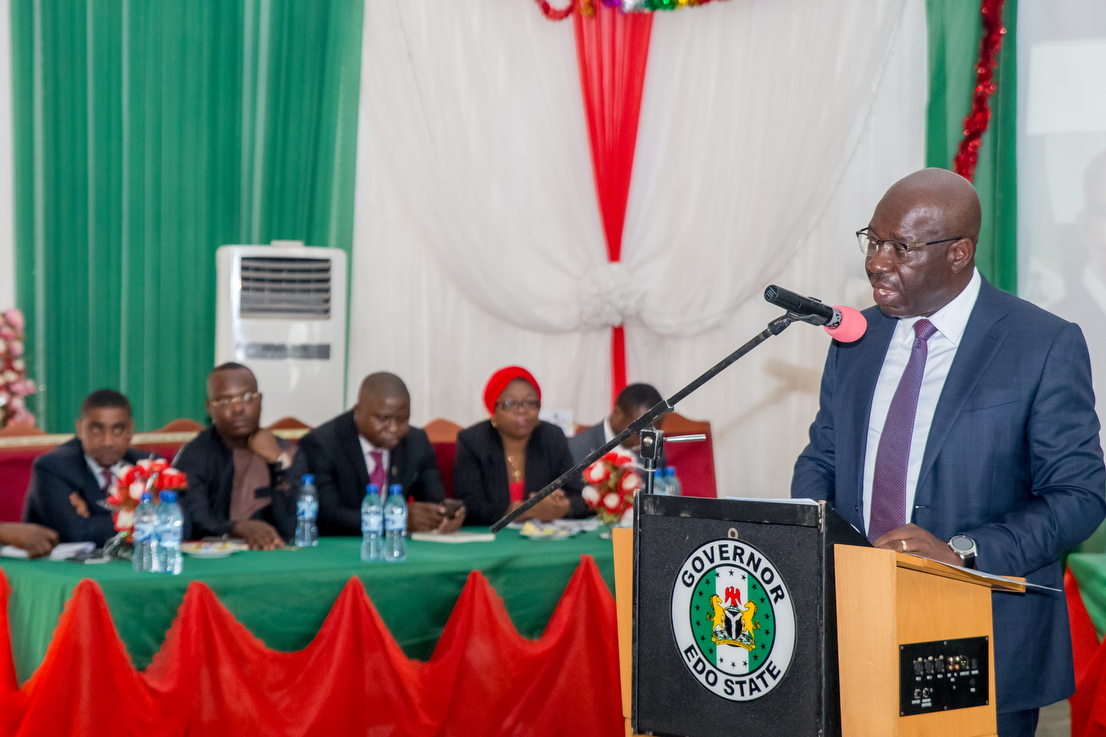 Obaseki engages Ambrose Alli Varsity management over ranking, sets performance target