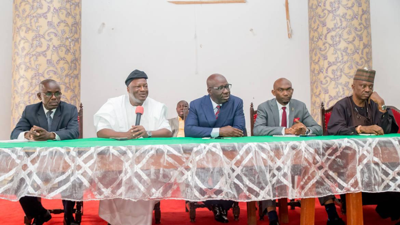 Obaseki, Edo Ijaws meet, commit to peaceful coexistence