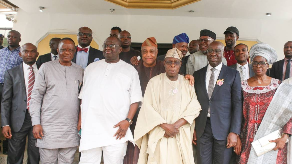 Obasanjo: Edo needs FG, Int'l agencies' support in fight against human trafficking